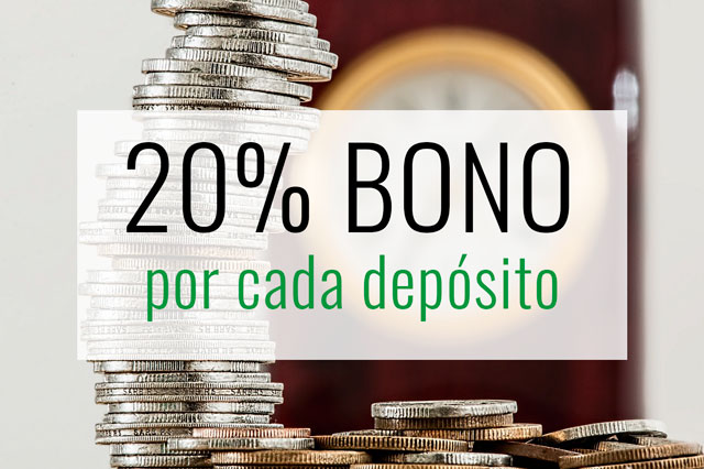 20% bono